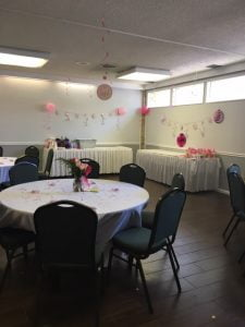 Peacock Rm Baby Shower 2