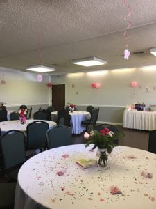 Peacock Room - Baby Shower