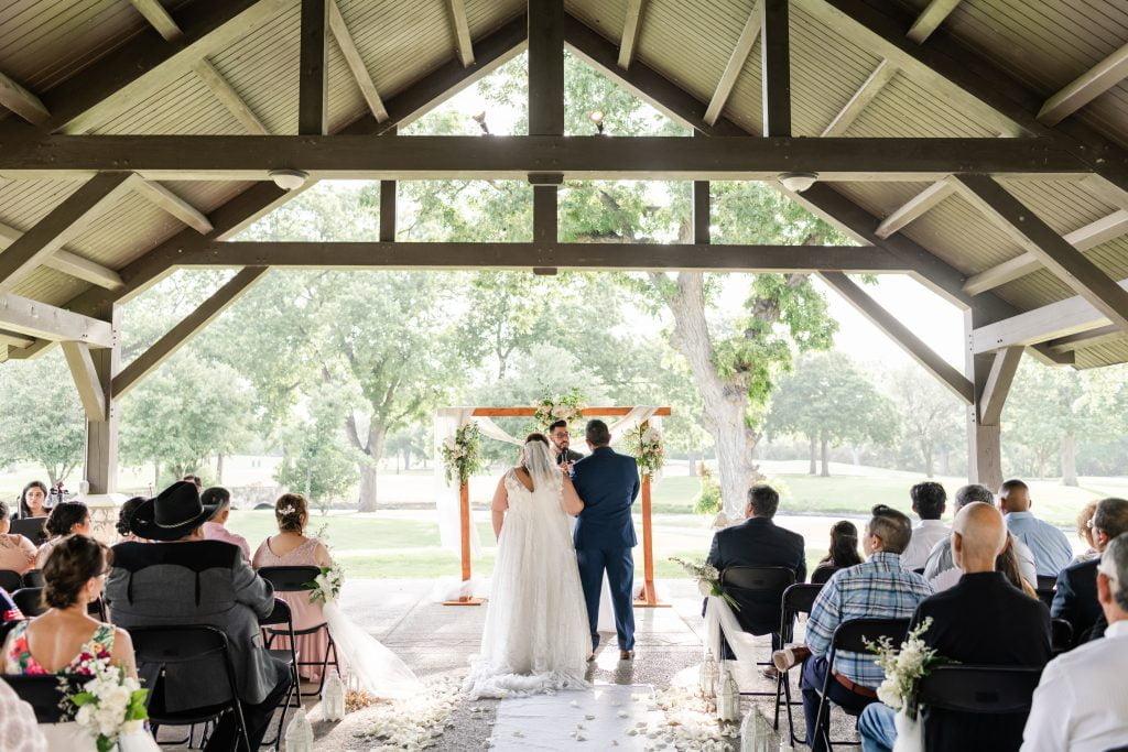 Brackenridge Golf Course Wedding M+B_Ceremony_ 061