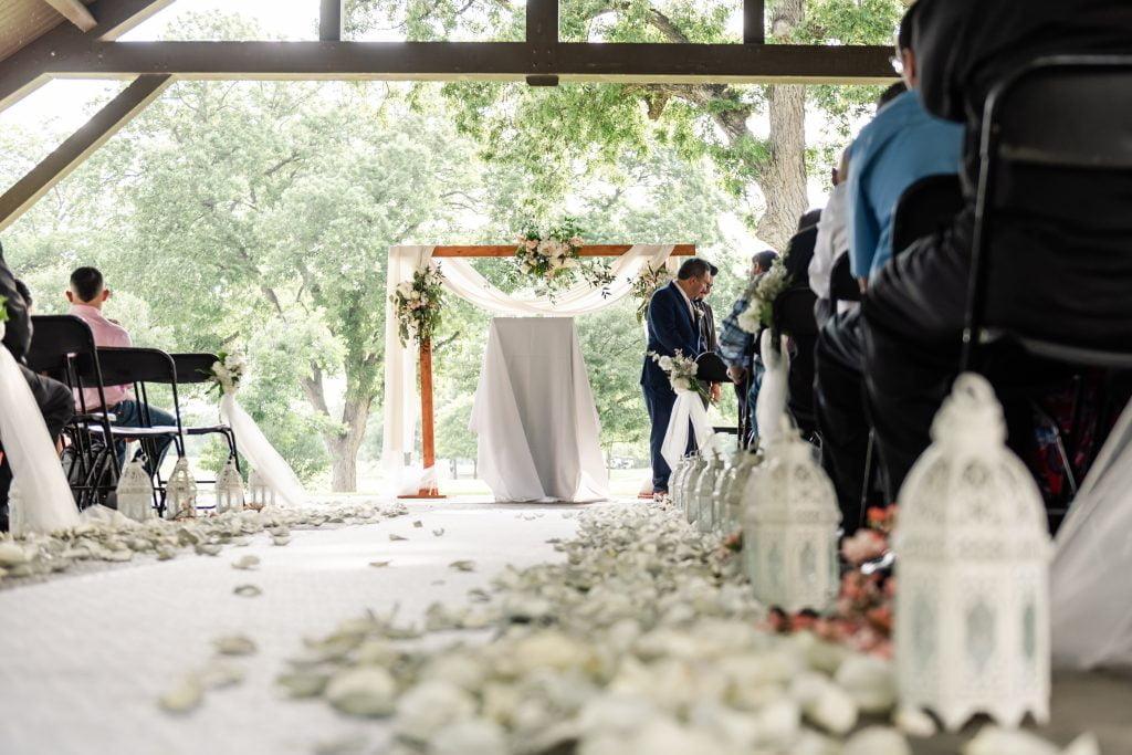 Brackenridge Golf Course Wedding M+B_Ceremony_ 159